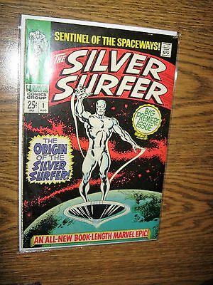 1st issue own title Silver Surfer 1 Marvel Comics 1968 VF 8.0 High Grade Buscema