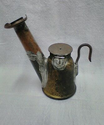 U.S.A. Miners Oil Wick Lamp Unfired, 1904