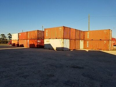 SHIPPING CONTAINERS HANDY MAN SPECIAL 20' CONTAINERS Located In Houston,TX