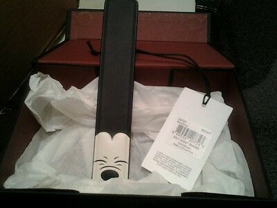 Coach Disney Limited Edition Mickey Squinting Bookmark & Gift Box