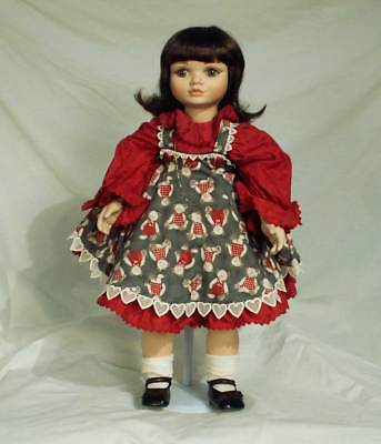 Marie Osmond Porcelain Doll I Love You Beary Much Toddler 23 inches jsg0015