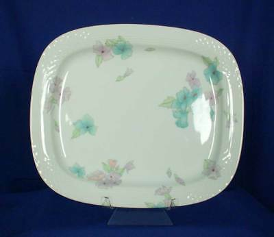 Hutschenreuther Germany Lahore Leonard Paris Decor White 13 inch Platter bfe1599