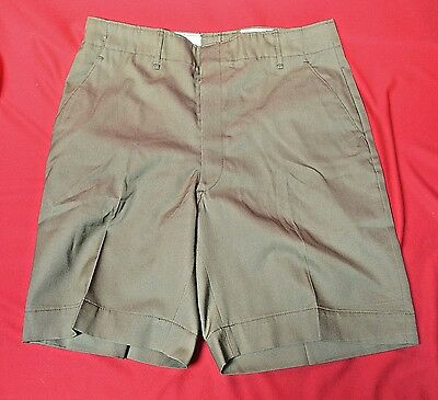 Boy Scout BSA Official  Green Uniform Shorts Mens 30-31