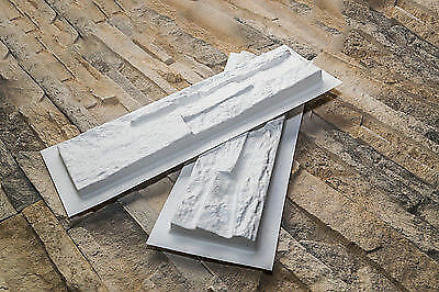 30 plastic molds  *GRENADA*  for concrete or plaster wall stone stackstone tiles