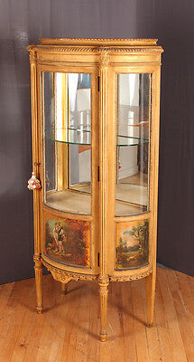 Vernis Martin Style Display Cabinet Lot 223