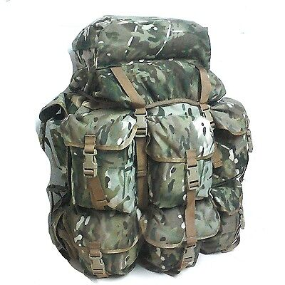T.a.s. Alice Pack Xl Multicam + Xl Zip Pockets - 900 Denier Double Pu Coating