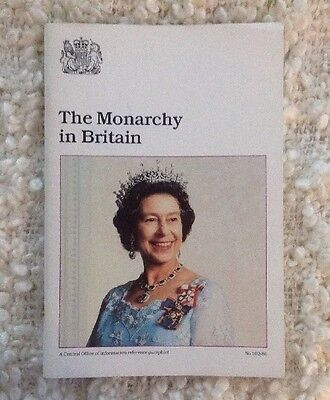 Princess Diana Royal Family The Monarchy In Britain Booklet 1986
