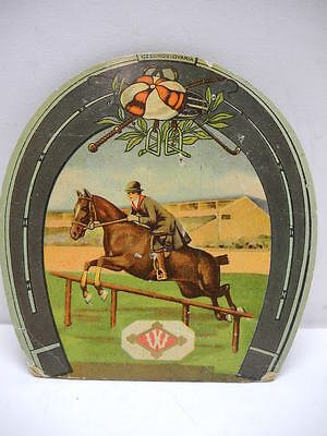 Old Needle Book Card with Horse Images & Needle Packages Made in Czechoslovakia