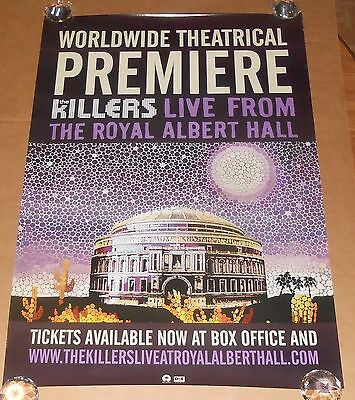 Killers Live From the Royal Albert Hall Poster Original Promo 39x27