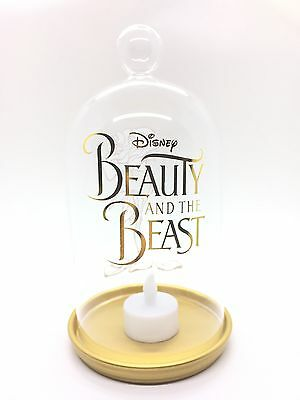 DSSH Grand Pin Event Beauty and the Beast Enchanted Rose Bell Jar Candle Holder