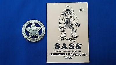 Single Action Shooting Society Badge
