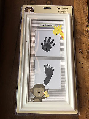 Carter's First Prints- Chid of Mine Hand & Foot Print w Frame & Ink- NEW in Box