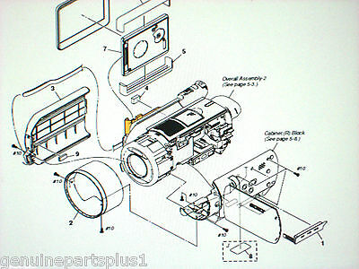 Genuine  Parts For Sony Dcr-Sr100