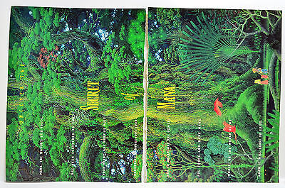 Secret of Mana by Squaresoft for Super NES 1993 video game four-page Print Ad