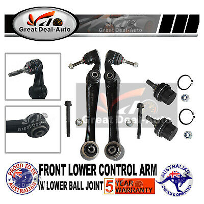 For BMW Control Arm Tie Rod Suspension Front  Kit E46 Wishbone End Sway Bar Link