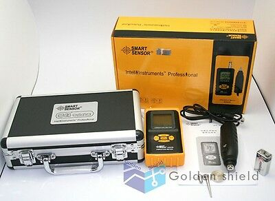 Smart Sensor AR63B Digital Precision Vibration Meter Tester Gauge Analyzer