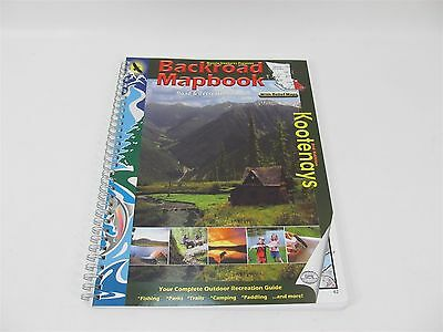 Backroad Mapbooks Kootenays British Columbia Outdoor Recreation Guide Maps