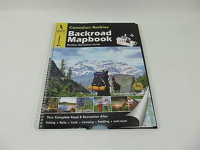 Backroad Mapbooks Canadian Rockies Bc Outdoor Recreation Guide Maps