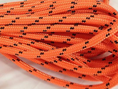 "Double Braid Polyester 1/2""x 100 feet arborist rigging tree rope line"