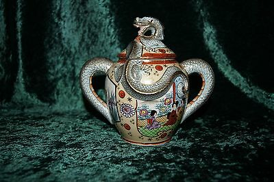 Superb Japanese Dragon Teapot with Maker Mark