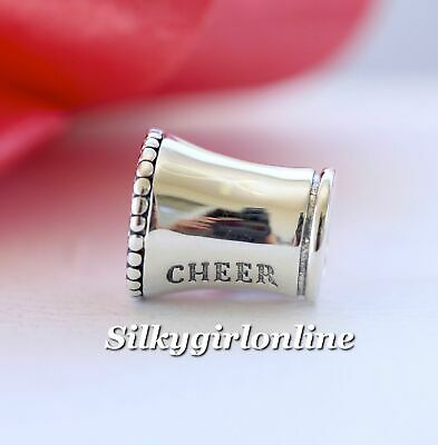 4d23e6055 Authentic Pandora Sterling Silver Cheerleader Charm #791125 Cheer **RETIRED **