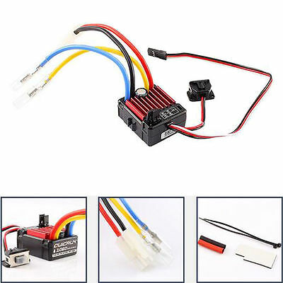 Hobbywing QuicRun 60A 1060 Brushed Controller Motor ESC For 1/10 RC Car SP