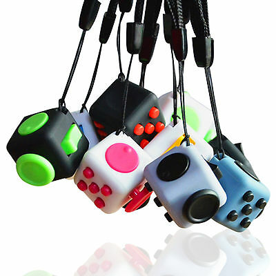 New Upgraded Magic Fidget Cube Anti-anxiety Adults Stress Relief Kids Toy Gift