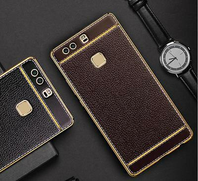 Quality Ultra-Thin Genuine Silicone Leather Soft Phone Case Cover For HUAWEI P9