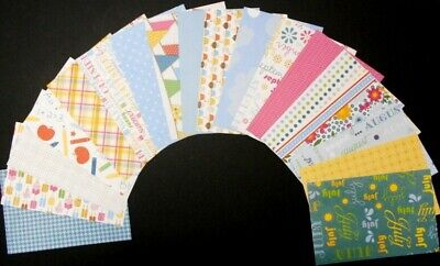"*MEMORIES*  Scrapbooking Papers for all Occasions x 18  - 15cm x 10cm  (6"" x 4"")"