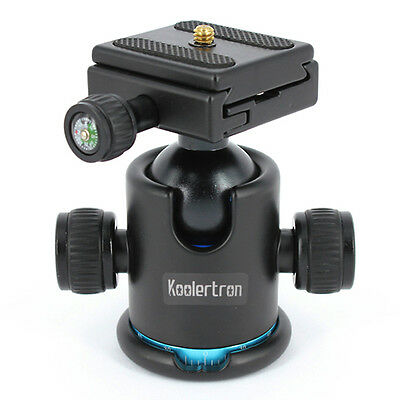 Koolertron Tripod Ball Head Ballhead  Quick Release Plate For Universal DSLR DV