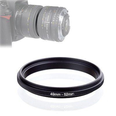 Male to Male 49mm-52mm 52mm to 49mm Macro Lens Reversing Coupling Ring Adapter