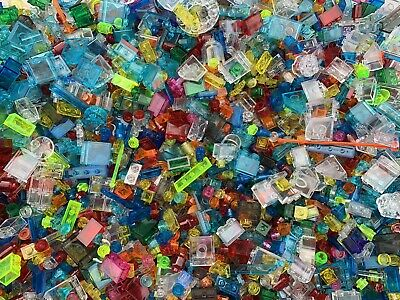 Lego - 50 Brand NEW MIXED Small Cone Plate Brick Transparent Translucent Pieces