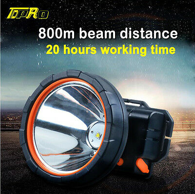 Rechargeable 1200Lm LED 2X 18650 Zoomable Headlamp Headlight Head Torch +Charger