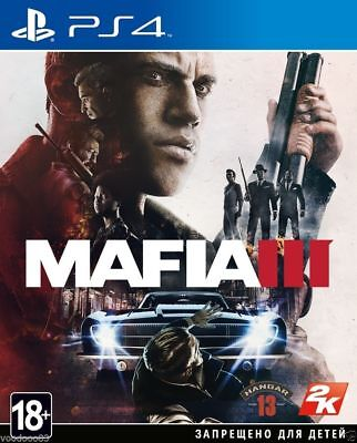 *NEW* Mafia III (3) (PS4, 2016) Russian,English version