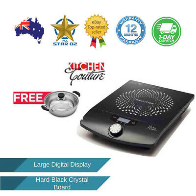 Electric Portable Hotplate Induction Cooker No Smoke Hot Plate 2000W Cook Top