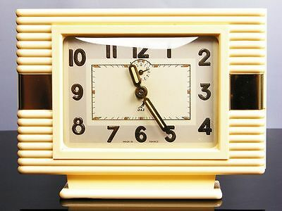 Later Art Deco Space Age  Modernism  Alarm Clock From Jaz France