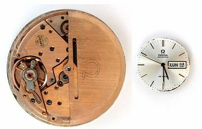 OMEGA 1022 original automatic watch movement working (5007)