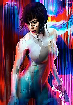GHOST IN THE SHELL POSTER 4 - VARIOUS SIZES - PRICE INCLUDES UK POST - Scarlett