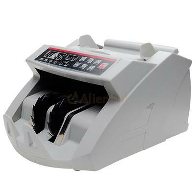 Bill Money Counter Display Currency Cash Counter Bank Machine UV MG Detector US