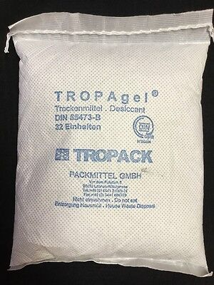 TROPAgel® Desiccant Bags Paper Home Safes Tools Dehumidifier 32 Unit - New