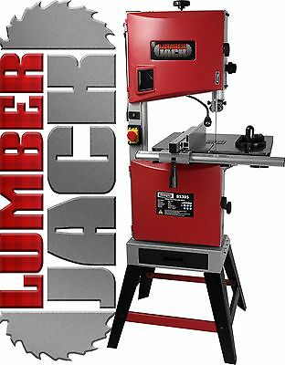 "Lumberjack BS305 Professional 305mm 12"" Woodworking Bandsaw Cast Tilt Table 240v"