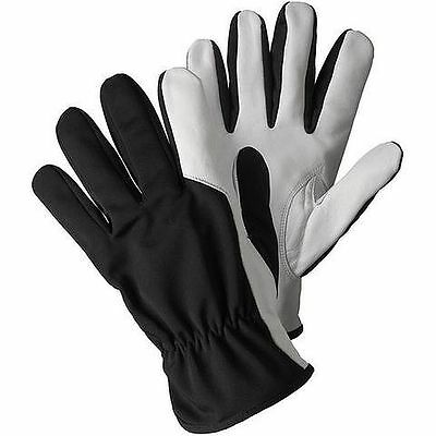 Briers Soft & Strong Leather & Nylon Gardening Gloves Medium or Large