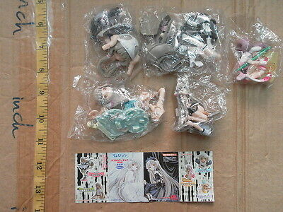 Kaiyodo K&M chobits chi chii figure gashapon part 1 x5