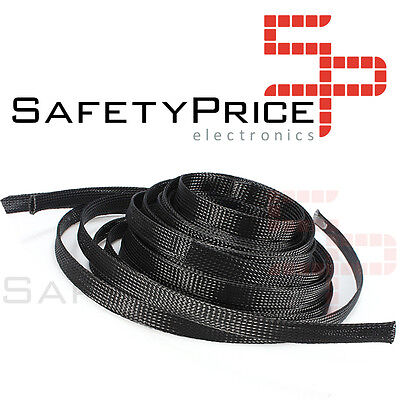"Funda para cable malla proteccion 8mm tipo ""piel de serpiente"" PET Modelismo RC"