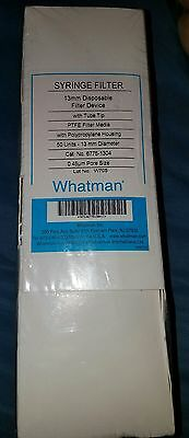 Whatman PTFE Puradisc (6775-1304) 13mm Disposable Syringe Filter Device  50 ct