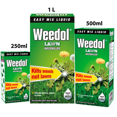 Weedol Lawn Weedkiller Concentrate in 250ml 500ml & 1L Size At Best Price