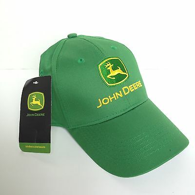 New Classic John Deere Green Tractor Adjustable Cotton Trucker Farmer Hat Cap