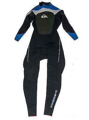 Quiksilver Blue Syncro Wetsuit 3/2 MM