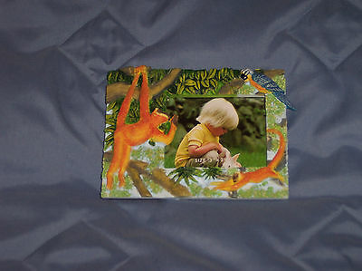 Baby / Kid Picture Frame 3 x 2 1/2 Jungle Themed