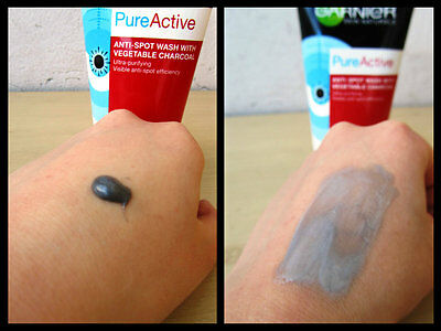 Garnier Pure Active Anti-Spot Wash + Vegetable Charcoal Ultra-Purifying 150 ml